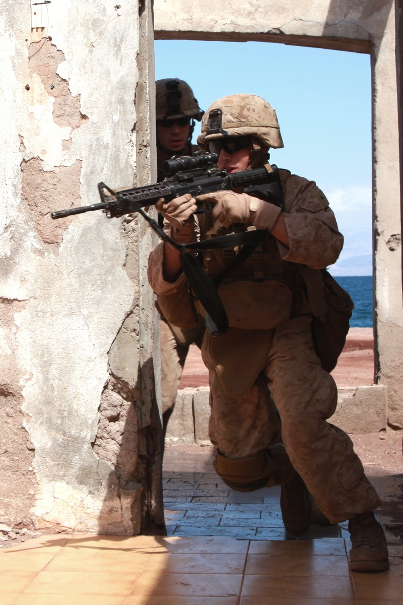 Cpl. Derek McGee, USMC MEU15 TRAP 2013